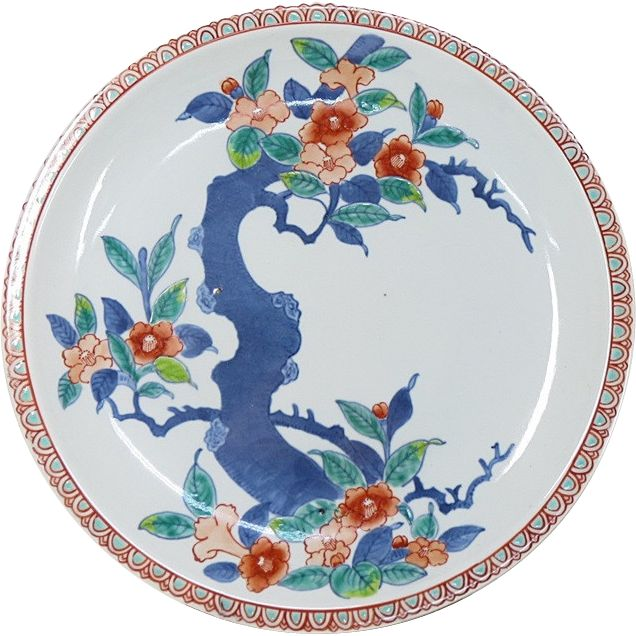 Japanese Vintage Gorgeous 鍋島 Nabeshima Platter