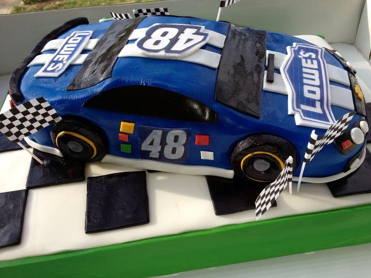 NASCAR. #48 Jimmie Johnson Cake.