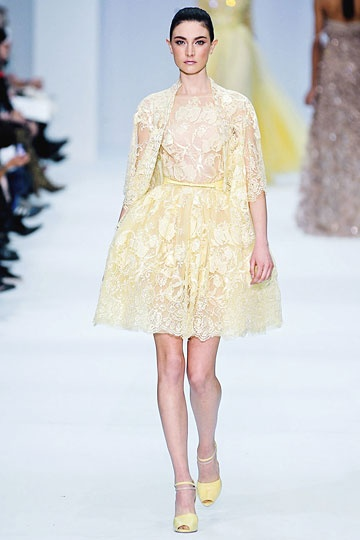 Elie Saab Spring 2012 Couture Collection <3
