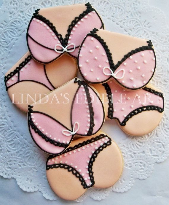 Bra and Panty Cookies