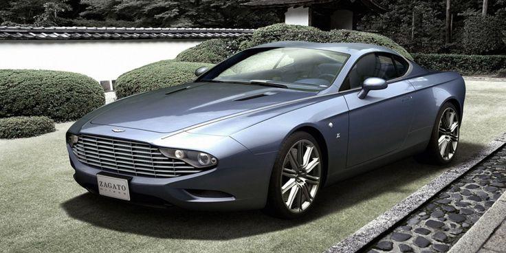 Aston Martin DBS y DB9 Volante Zagato.