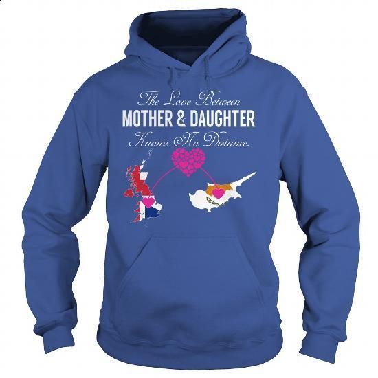 Mother and Daughter - United Kingdom Cyprus - #zip hoodie #cotton shirts. SIMILAR ITEMS => https://www.sunfrog.com/States/Mother-and-Daughter--United-Kingdom-Cyprus-Royal-Blue-Hoodie.html?60505