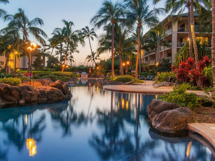 When you ask my kids about how their trip to Kauai was, the FIRST thing they will tell you about was the stay at the Koloa Landing Resort.