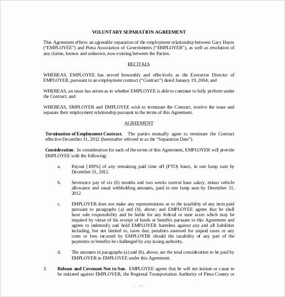Trial Separation Agreement Template Best Of 16 Separation Agreement Templates Free Sample Separation Agreement Template Separation Agreement Web Design Quotes
