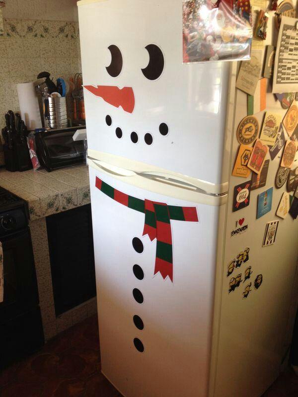 Mono de nieve para refrigerador en imanes Crea el tuyo!!!