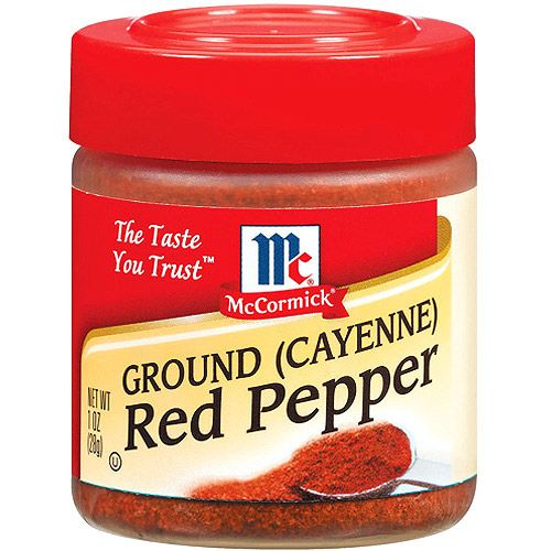 McCormick Spices and Herbs | McCormick Specialty Herbs And Spices Ground Cayenne Red Pepper, 1 oz