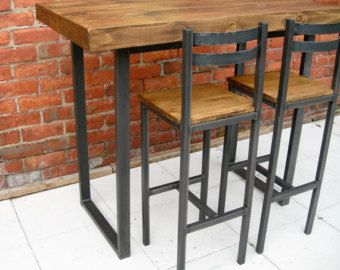 Bar stool / chair lovely handmade rustic by Redcottagefurniture