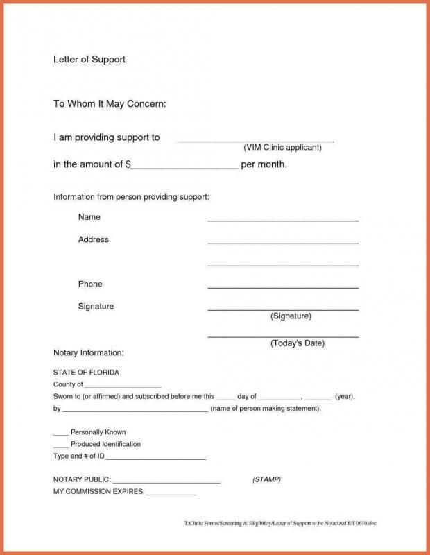 How To Write A Notarized Letter Template Pinterest Lettering