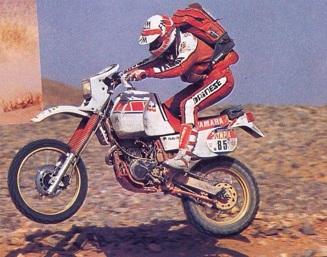 Marinoni 1985 Paris Dakar