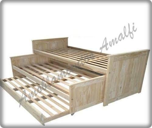 17 mejores ideas sobre camas para ahorrar espacio en for Cama nido doble de 105