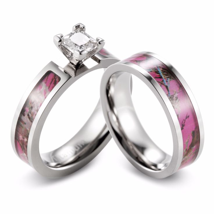 17 Best ideas about Camo Engagement Rings on Pinterest   Silver engagement  rings, Purple wedding rings and Purple rings