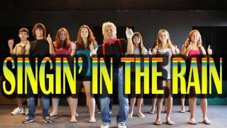 Singing in the Rain - FREE Music Video and Printable Lyrics: This song invites children to participate with silly movements and dance.  It is part of brain breaks programs spanning the globe and a hit with preschool, kindergarten and lower elementary children. This video is a great addition to your theme on spring and is ideal for morning meeting, circle time, brain breaks, indoor recess and group activities. It's a popular song performed at family nights, preschool and kindergarten…