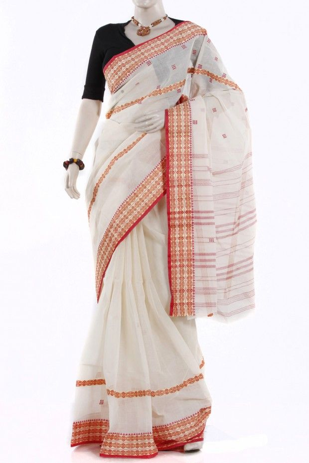 This nice handloom Saree made from Cotton, full of nice design.