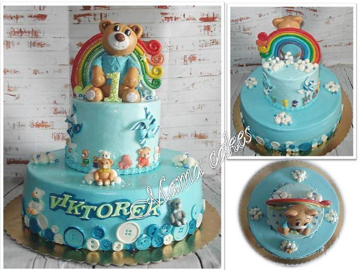 Dort Medvídek - Teddy bear cake