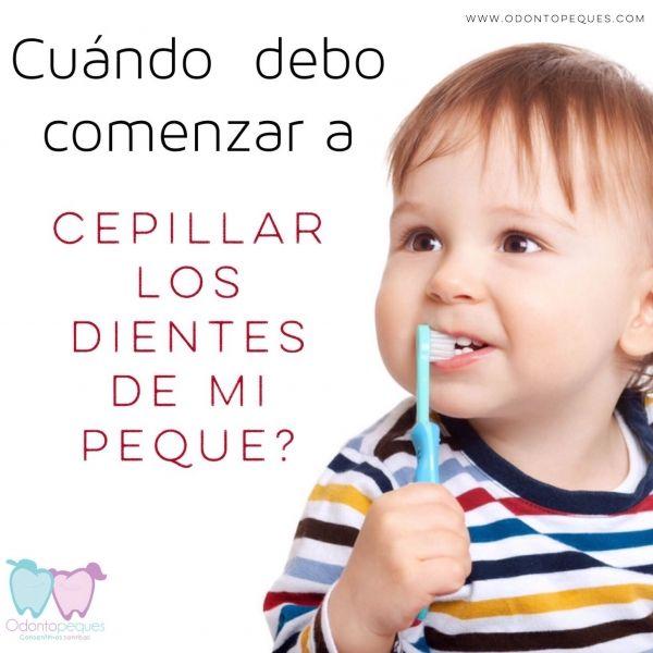 Espacio Dedicado Al Cuidado Dental De Los Más Peques De La Casa Cuidado Dental Cepillado Dental Dientes De Bebe