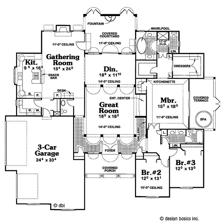 Old florida style home plans design pinterest for Floors of the house in spanish