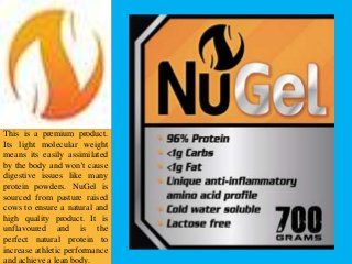 If you are looking to buy Gelatin in Australia then NuStrength is the right place to visit. You can get real nutritional product from here which shows effectiv…