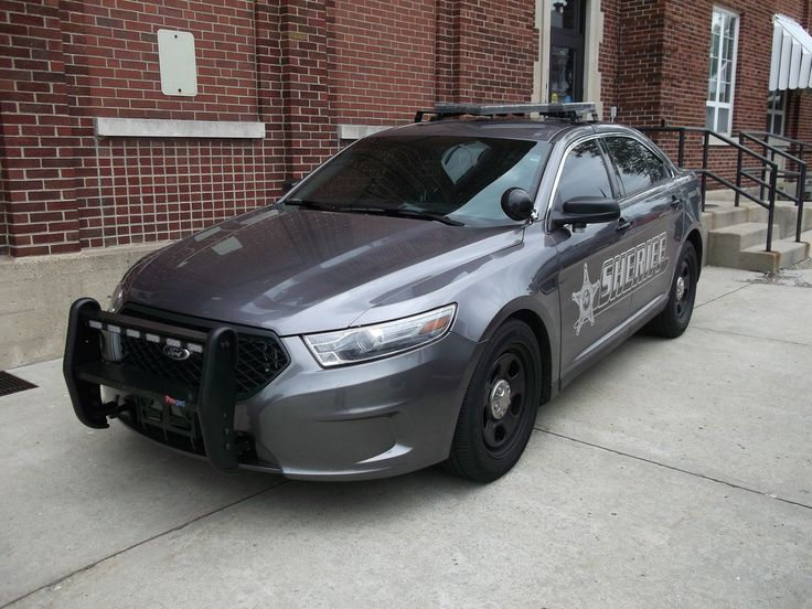 County Indiana Sheriff Ford Police Interceptor...Simple but I like it.
