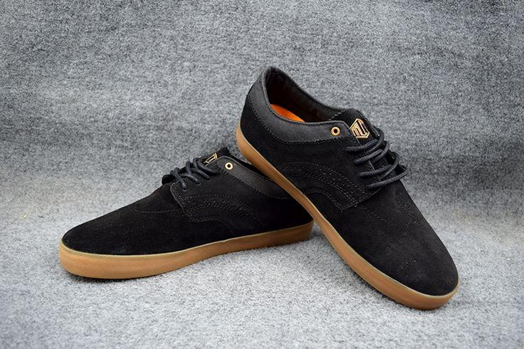 (67.00$)  Watch now - http://ai3zc.worlditems.win/all/product.php?id=32668445323 - US Size 9/10.5/11 Boys Hard-Wearing GLOBE ENCORE-2 Board Shoes Black/Anjoi Anti-Fur Street Shock-Absorbant Footwear