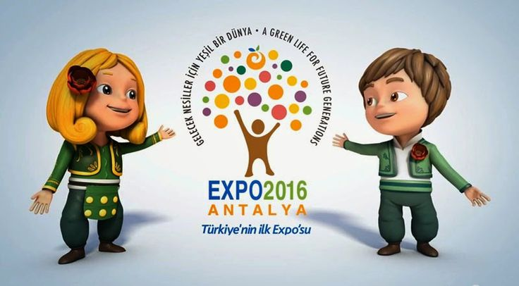 Expo 2016 Antalya BLOG: Welcome to the Mascots of Expo 2016 Antalya : ECE ...