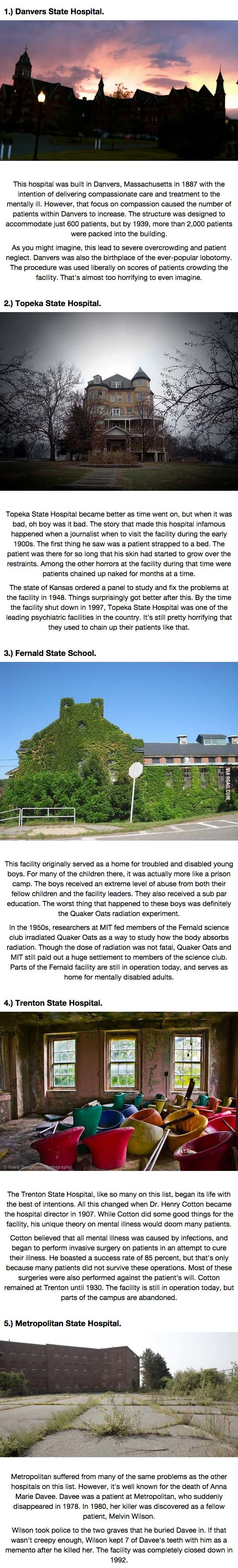 5 Abandoned Asylums Whose Backstories Would Make For Terrifying Movies.  ♦ℬїт¢ℌαℓї¢їøυ﹩♦