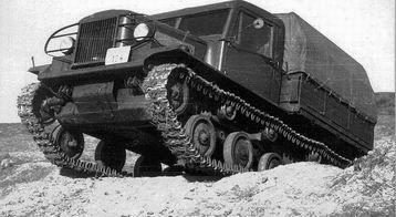 Csepel 800 lánctalpas tüzérségi vontató