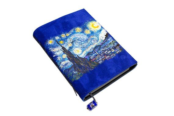 Starry night от BazArtLeather на Etsy