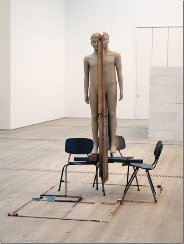 Mark Manders Mysterious Figures