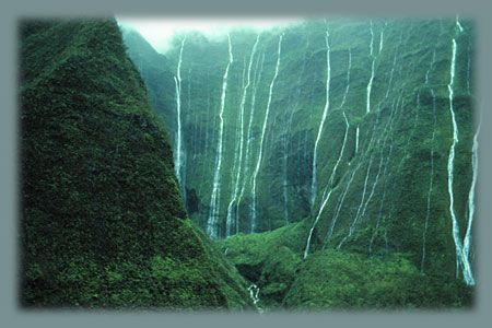 Mount Wai'Ale'Ale - the HEART of ancient MU (Lemuria). Kauai was voted the second best island in the world - Galapagos being the first. Summer to do list