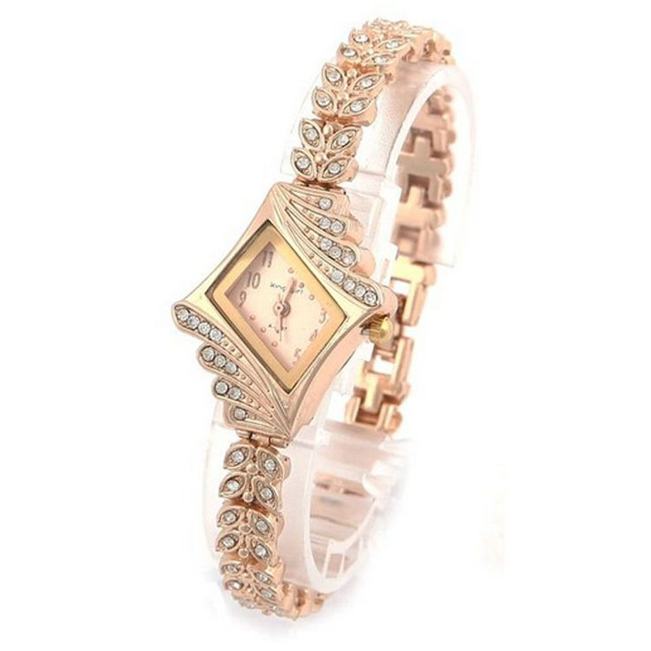Luxury Women Watches Crystal Quartz Bracelet Bangle Wrist Watch Ladies Girl - free shipping worldwide