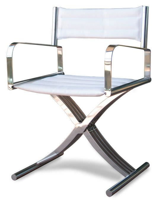Boat Directoru0027s Chair / Folding / Stainless Steel   GEORGE   Valdenassi