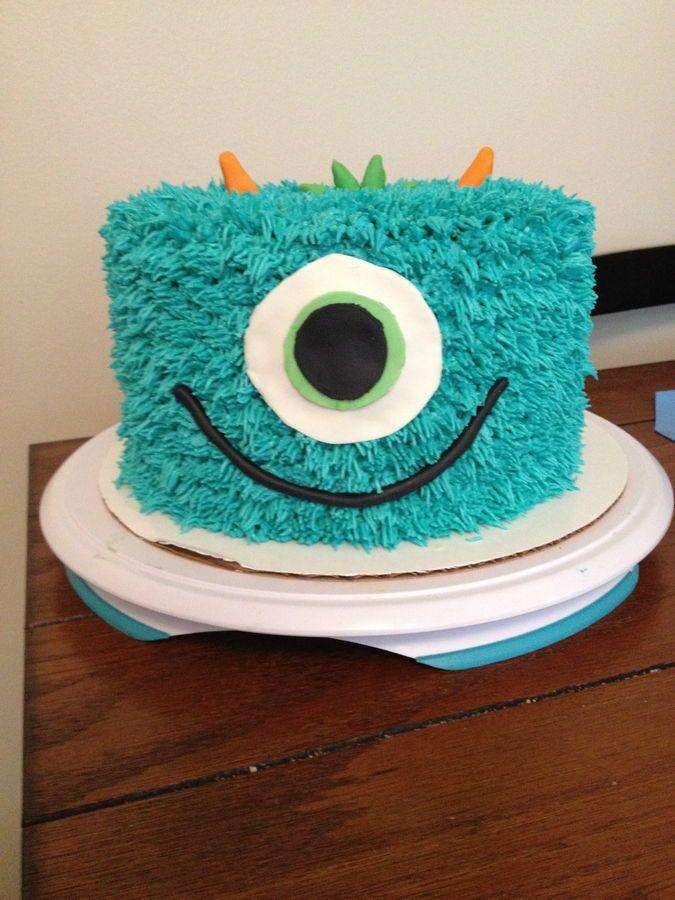 Monster baby shower cakes   monster monster baby shower cake