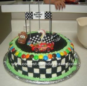 11 best racing party images on Pinterest Race track cake