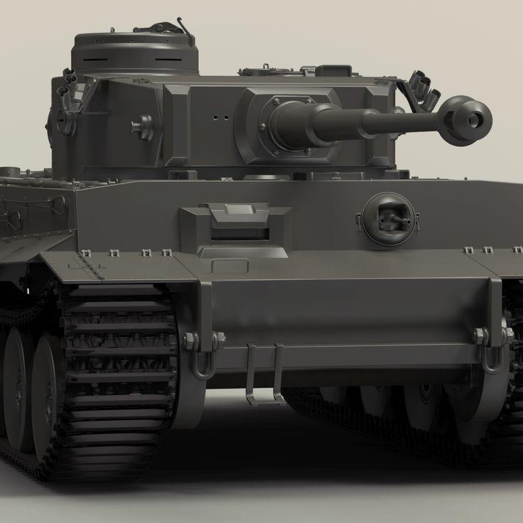 Tiger I german tank