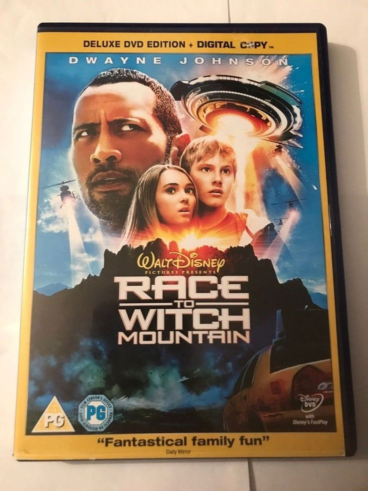 Only £2.60!! Race To Witch Mountain 2-Disc DVD + Digital Copy Fast Free Postage