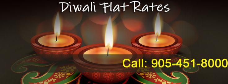 Special Diwali Flat Rates @ Brampton Taxi