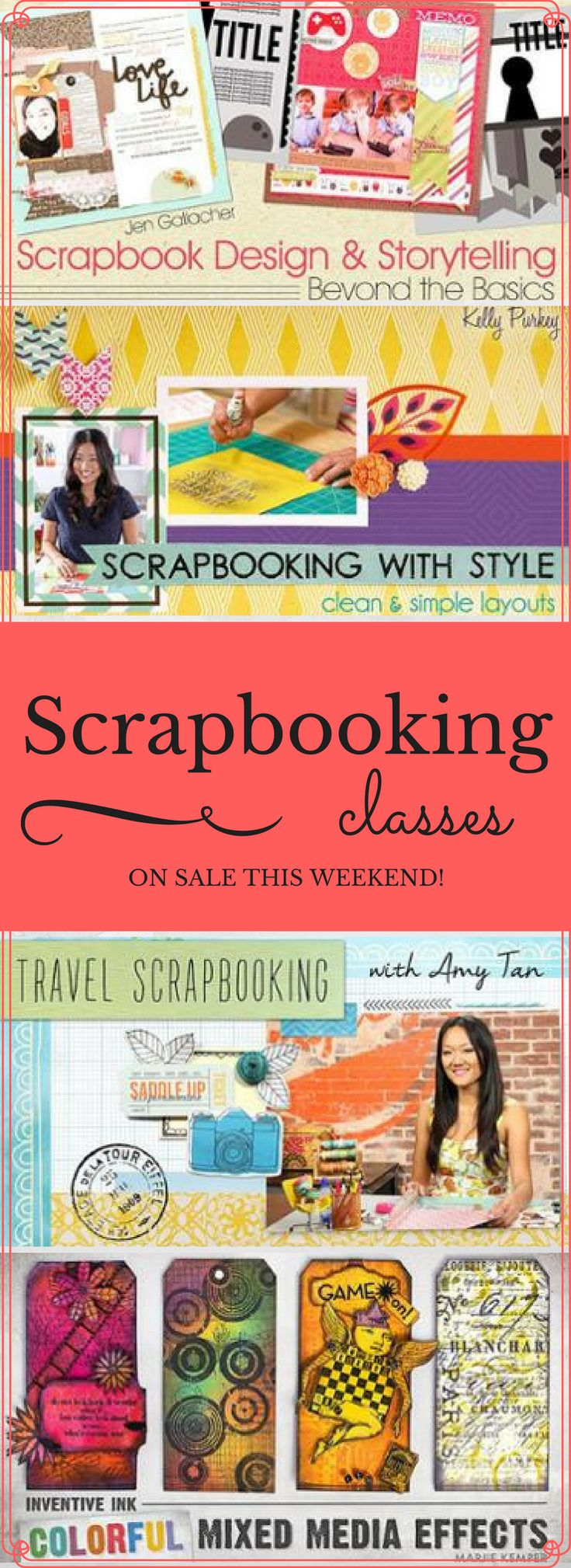 22 best online card making classes images on pinterest cardmaking scrapbooking classes are on sale at craftsy this weekend be sure to check out a wide variety of online scrapbooking and paper crafts courses including kristyandbryce Choice Image