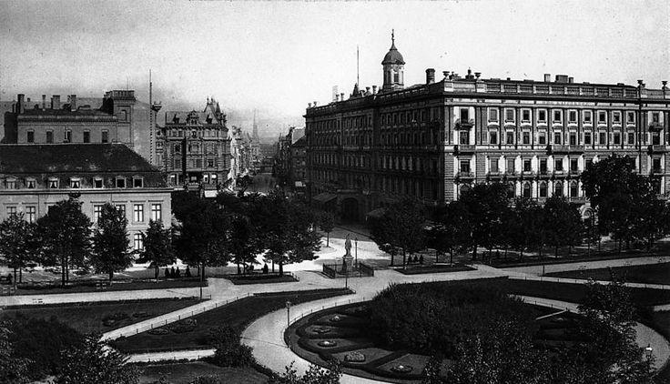 Berlin 1900 Hotel Kaiserhof und Wilhelmplatz