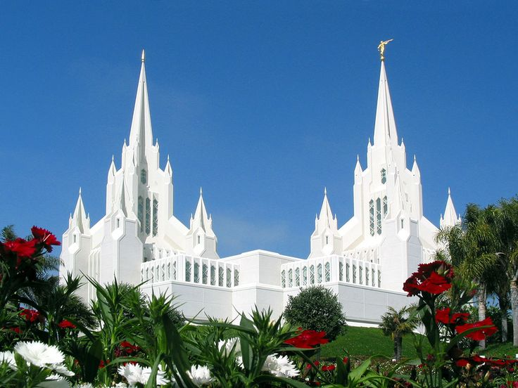 The San Diego, California LDS Temple: My most favourite Temple in the whole world!