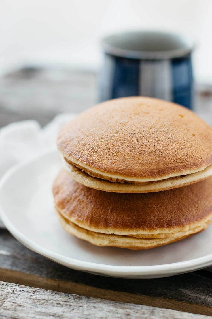 Dorayaki Is A Popular And Cl Ic Japanese Snack Made From Pancakes And Red Bean Paste Its Perfect For A Snack Or Treat