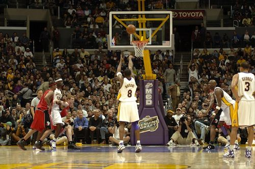 One of the GREATEST moments in NBA history . Last time anyone dropped that many buckets was in the 60's (Chamberlain's 100) ... To do that in today's game is nuts . Kobe Bryant = GOAT ... | Re-examining Kobe's 81-Point Game #nba #basketball