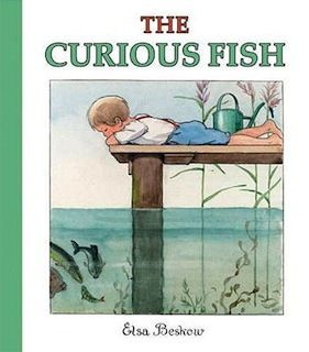 @Anna Totten olive! this is the book i was trying to remember! The Curious Fish, Elsa Beskow