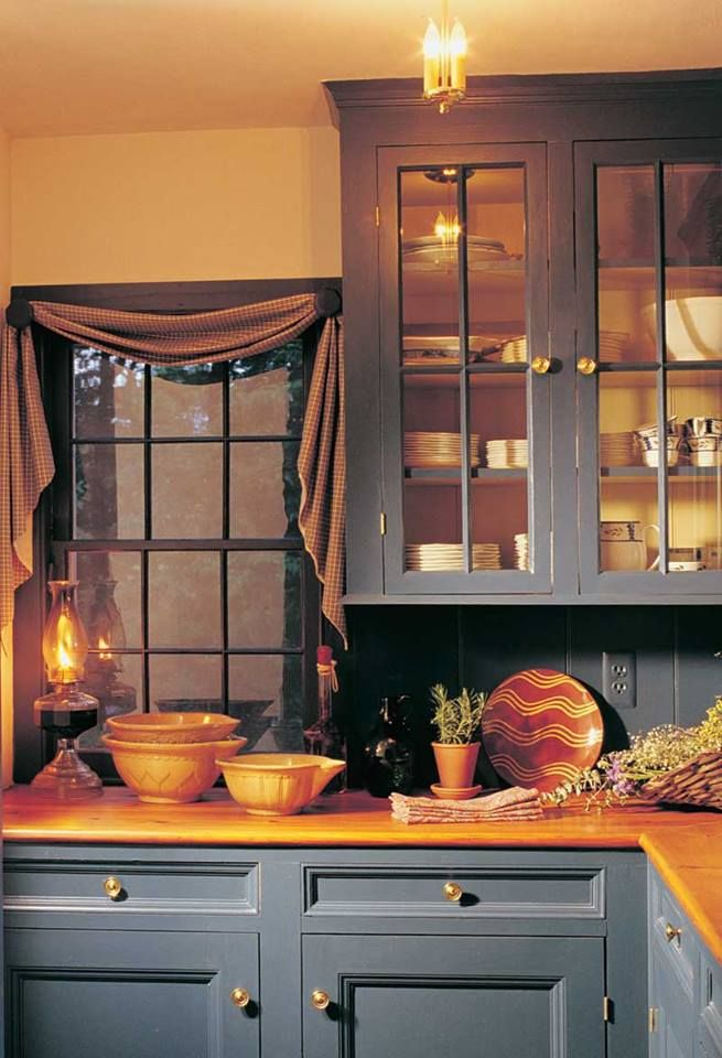59 best images about Prim Kitchens, Primitive Kitchens on ...