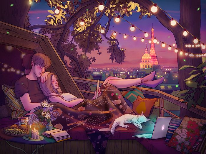 Le Bonheur d'être amoureux dans les petits Gestes de la Vie quotidienne - Chambre237