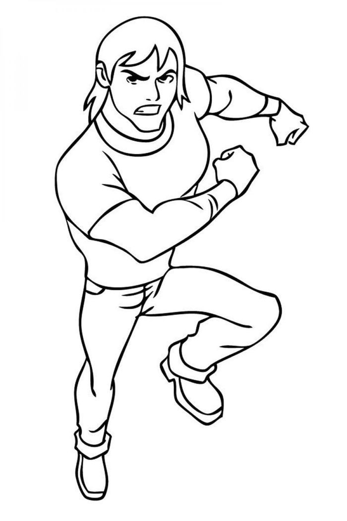 Ben Kevin Coloring Pages Cartoon Coloring Pages Coloring Pages For Kids Paw Patrol Coloring Pages