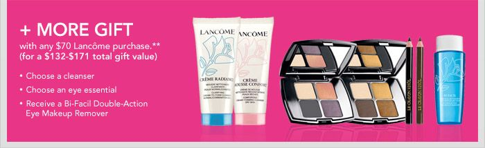 Lancome Gift with Purchase at Macy's August 2013 | Never Say Die Beauty