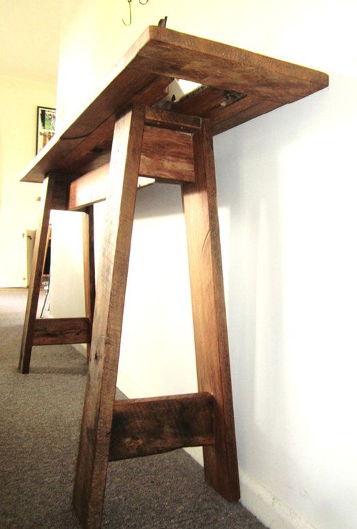 martynhodder sculptures - STUNNING 100 + YEAR OLD RIMU HALL TABLE CIRCA 1903