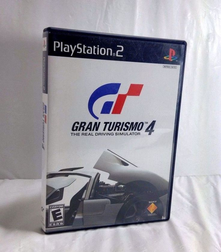 GRAN TURISMO 4 for SONY PS2 PlayStation2 Play Station 2 PlayStation Complete  #SONY