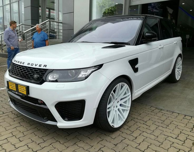 """Thoughts on this local Range Rover Sport SVR with huge 23"""" Startech rims?  Photo via @wmaybery  #ExoticSpotSA #Zero2Turbo #SouthAfrica #RangeRoverSport #SVR"""