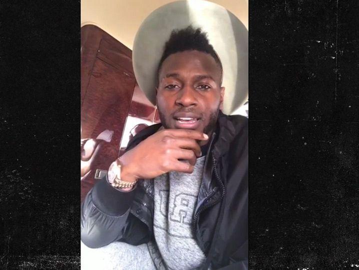 Antonio Brown Apologizes Again For Posting Locker Room Vid (VIDEO)